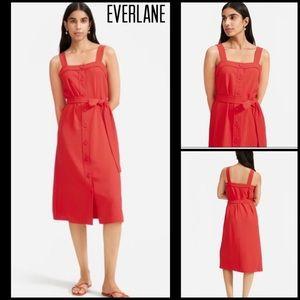 Everlane Japanese GoWeave Picnic Dress Sz 4